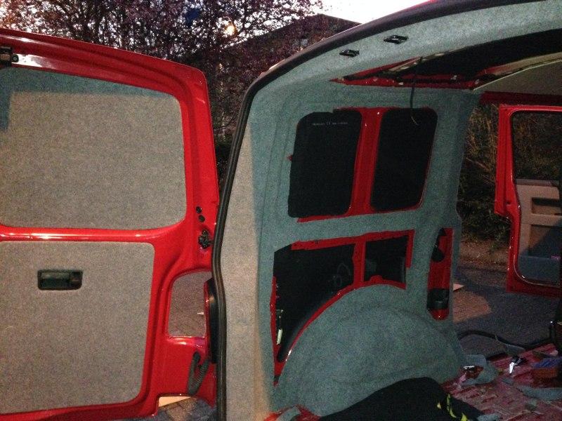 Carpet Lining Vw T5 Campervan